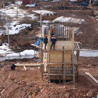В Красноярском крае построен уникальный кривой мост
