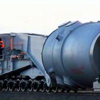 Видеофакт: как доставляли корпус реактора на Белорусскую АЭС