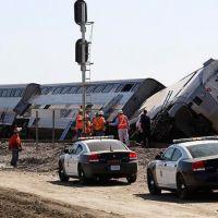 США. Катастрофа на железной дороге. Двое погибших