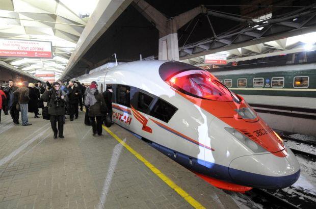 В Центральный парк закупают новый детский поезд дизайном под «Сапсан»