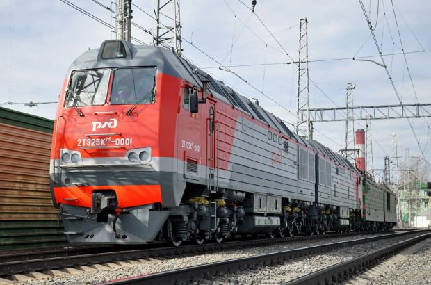 На железную дорогу поступило 34 новых локомотива