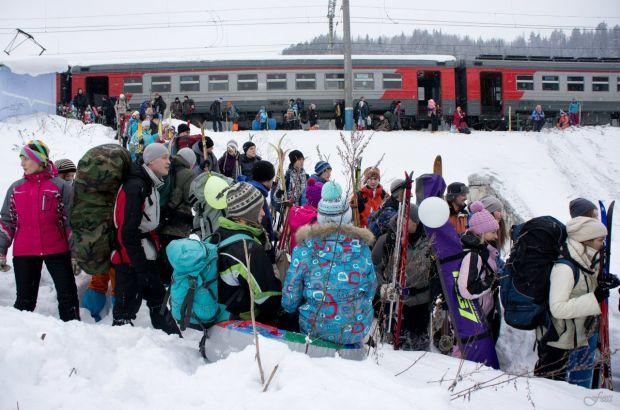 Электричка «Снежинка-2016» приглашает башкирских любителей активного отдыха