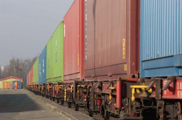 В Ворсино прибыл поезд из Китая