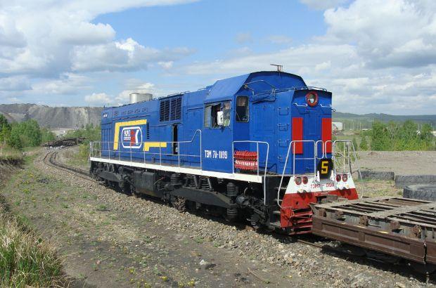 Новое локомотивное депо на разрезе