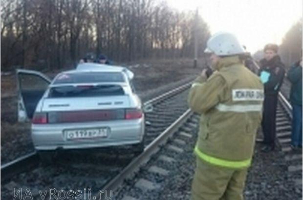 Белгородец погиб в ДТП с электричкой