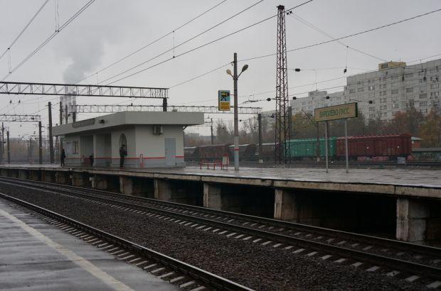 Электричка «Барыбино-Москва» насмерть сбила человека