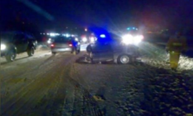 В Пермском крае два человека погибли при столкновении поезда и автомобиля