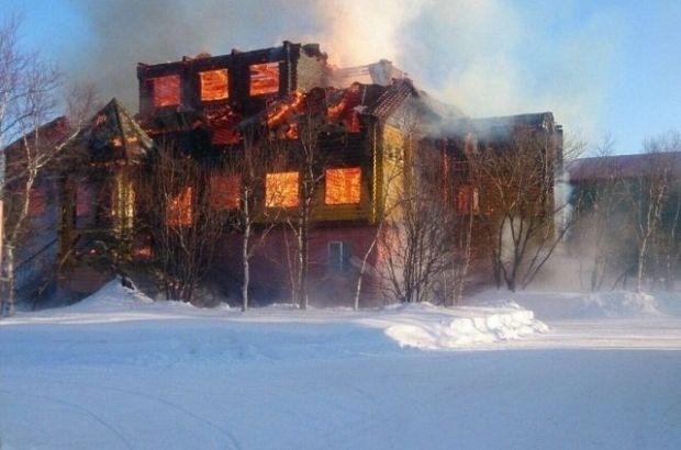 База отдыха РЖД стоимостью 300 миллионов рублей сгорела на Сахалине