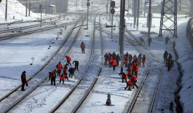 Двадцать электричек Ярославского направления МЖД, следовавших в Москву, опоздали из-за снегопада
