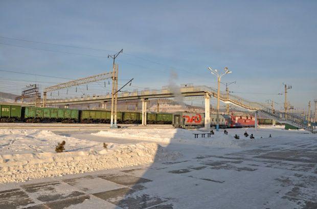 На станции Сковородино Забайкальской железной дороги произошёл сход шести вагонов хозяйственного поезда