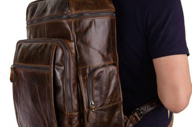 Мужской кожаный рюкзак – хит во все времена!