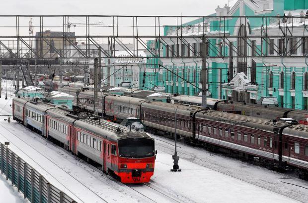 В Омской области запустили образовательный электропоезд «Знание»