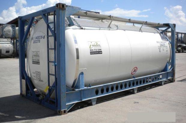 Контейнерные перевозки грузов - перевозка наливных грузов в Танк-контейнерах