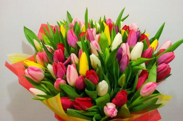 Букеты с тюльпанами: символический смысл подарка